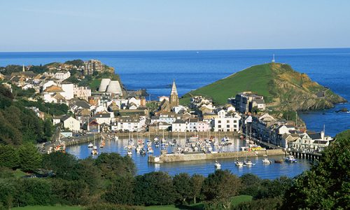 llfracombe, Devon.   I went from this....