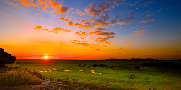 Sunset from Ubirr Rock, Kakadu